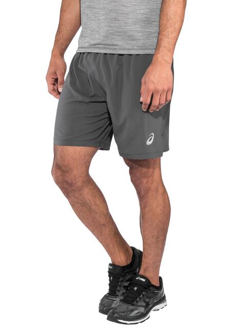 "asics Silver 7"" 2-In-1 Shorts Men Dark Grey"